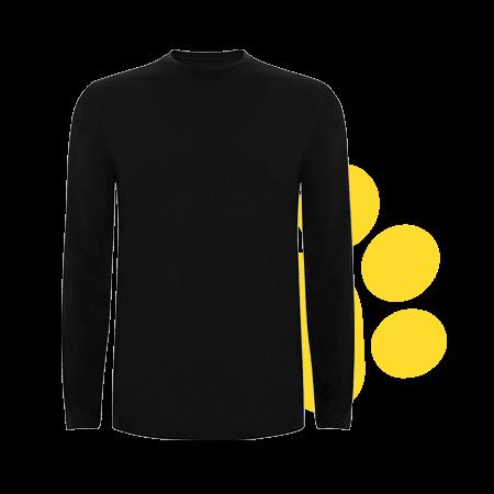 Camiseta larga color