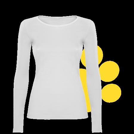 Camiseta de mujer manga larga